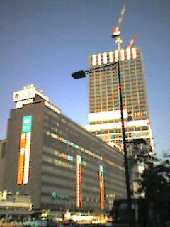 東京駅工事中