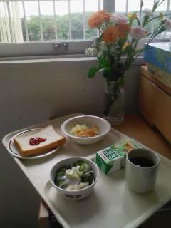 入院日記3日昼食メニュー