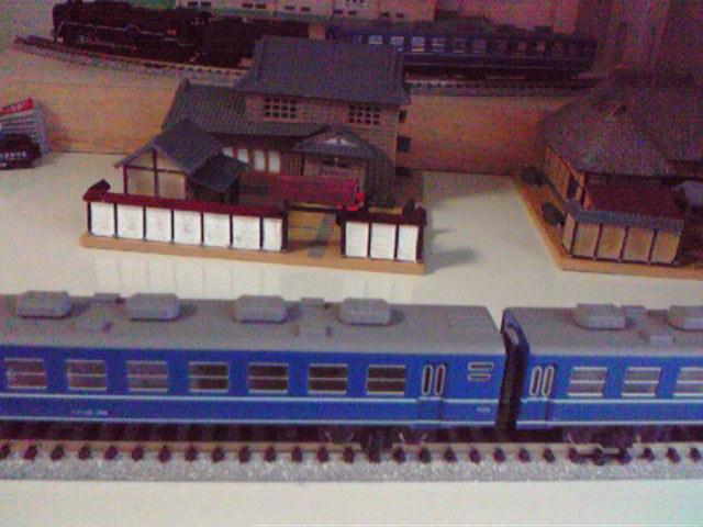 折尾駅をイメージした風景